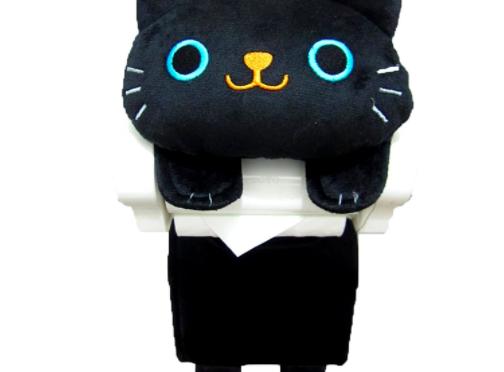 デザインが可愛い♪「猫のトイレットペーパーホルダー」が癒されること間違いなし♪